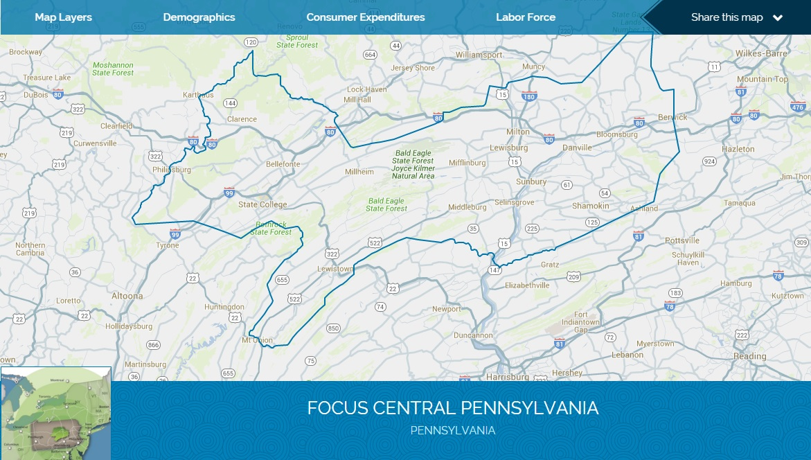 Focus Central Pennsylvania Regional Profile