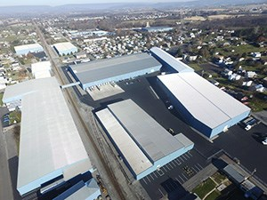 202 East 7th Street Watsontown PA, 1,200,000 SF, 45′ ceilings, 5 Rail Sidings-Indoor Rail