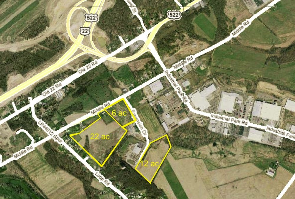 Industrial Park Road, Lewistown PA, 28 Acres, KOZ