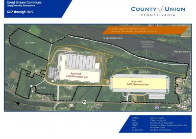US Rt 15, Allenwood PA, 365 Acres, Industrial, Rail Served, KOZ