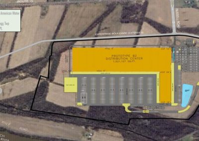US Rt 15 & Russell Rd, Allenwood PA – 166 Acres, Pad Ready