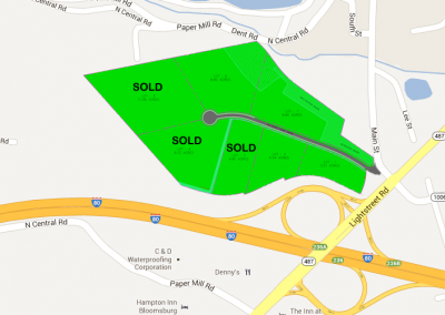 Alliance Park Drive Bloomsburg PA – Business Park 2-8+Acre Sites