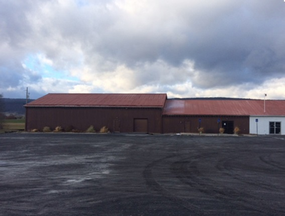 4567 East Main Street Belleville, PA – 8,100SF, 16′ Ceilings, Clear Span