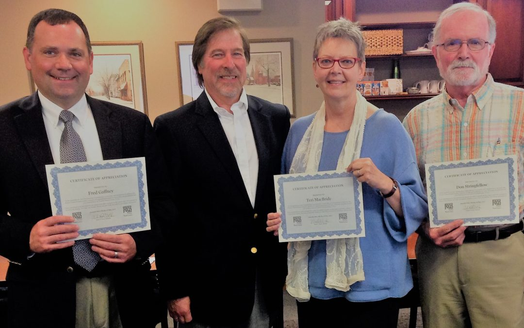 Focus Central Pennsylvania Recognizes Board Members