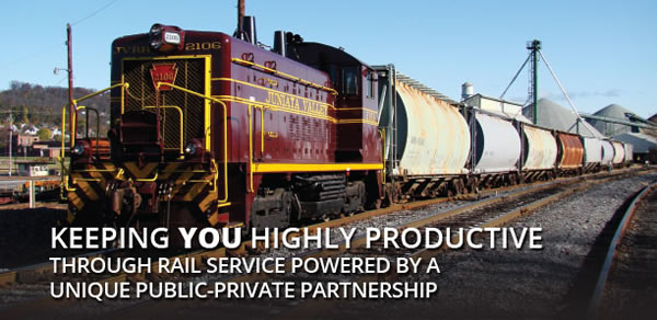 Keeping you highly productive through rail service powered by a unique public-private partnership