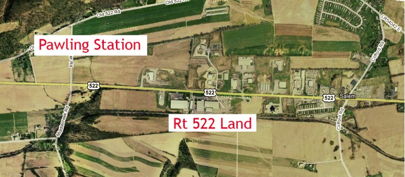 Rt 522, Selinsgrove, PA 42 Acres, Industrial