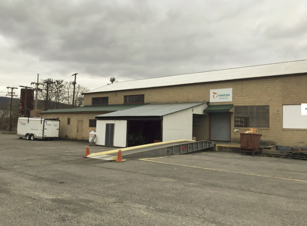 350 Railroad Street, Danville PA: 13,524SF Industrial stand alone storeroom/building