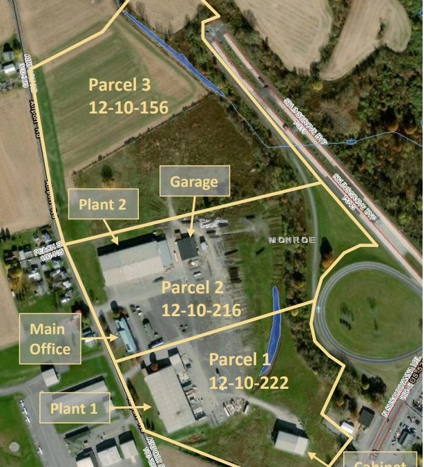 195 Airport Rd Selinsgrove PA – 134,812SF w/50+Acres Zoned Industrial