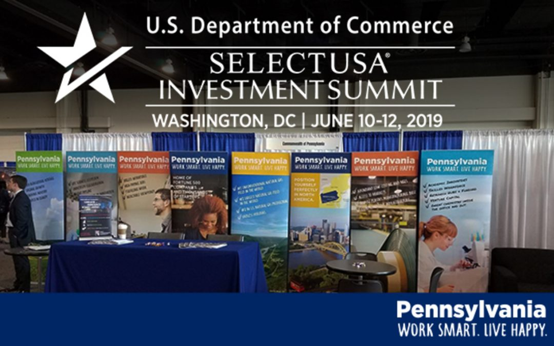 FOCUS CENTRAL PENNSYLVANIA TO ATTEND WASHINGTON, D.C., CONFERENCE TO ATTRACT BUSINESS INVESTMENT TO CENTRAL PENNSYLVANIA