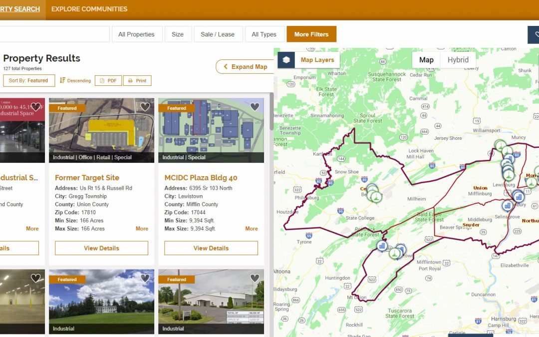 FOCUS CENTRAL PENNSYLVANIA LAUNCHES REDESIGNED AND IMPROVED INNOVATIVE SITE SELECTION TOOL
