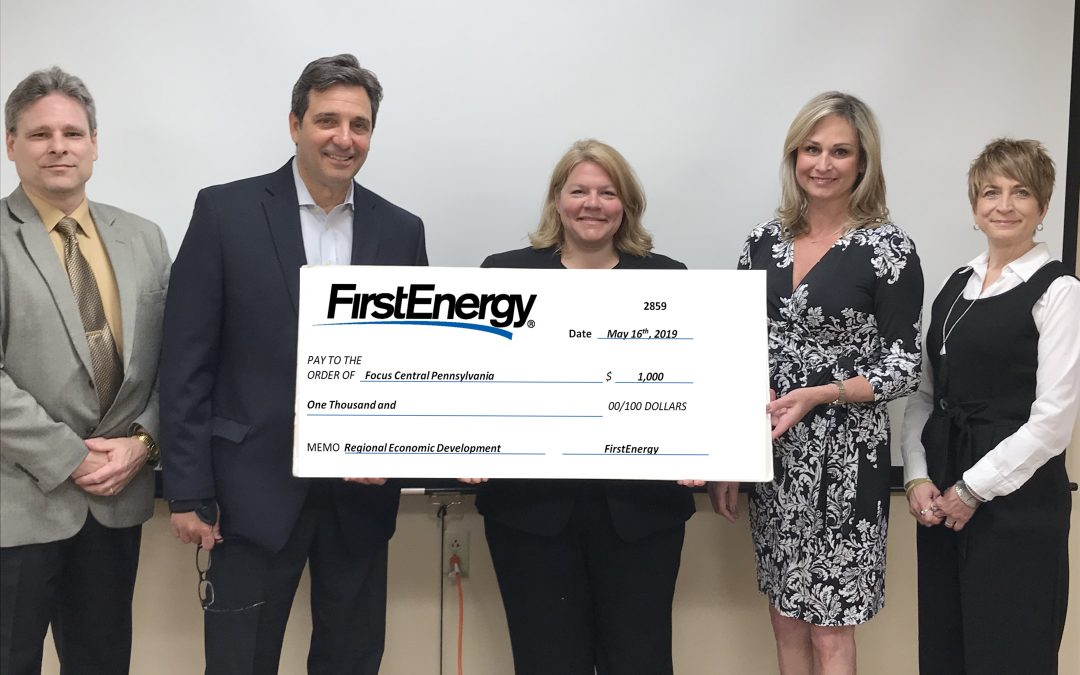 FIRSTENERGY CORPORATION SUPPORTS REGIONAL GROWTH