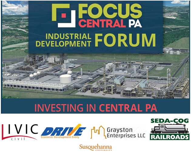 Focus Central Pennsylvania to host 2020 Industrial Development Forum