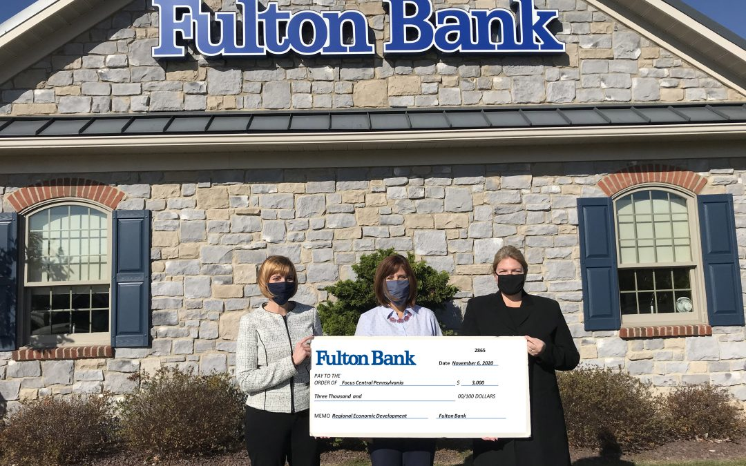 FULTON BANK INVESTS $3,000 IN SUPPORT OF REGIONAL ECONOMIC GROWTH